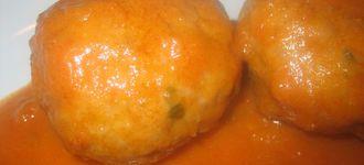 Albóndigas rellenas de foie y/o gorgonzola