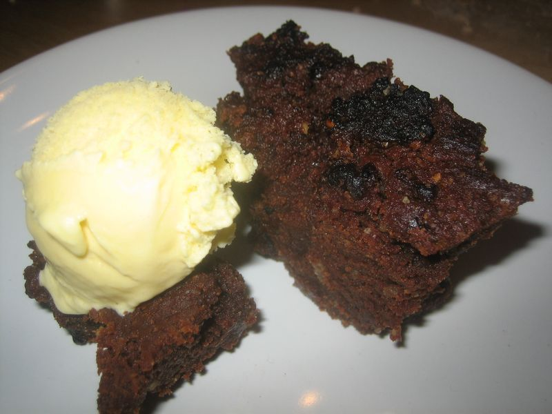 Brownie «Agujero Negro»