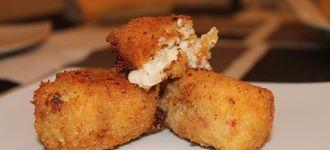 Croquetas de pollo asado