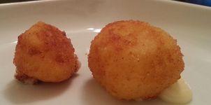 Croquetas de queso de tetilla
