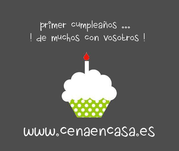 Primer aniversario de CenaEnCasa