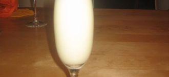 Sorbete de sidra de pera y vodka