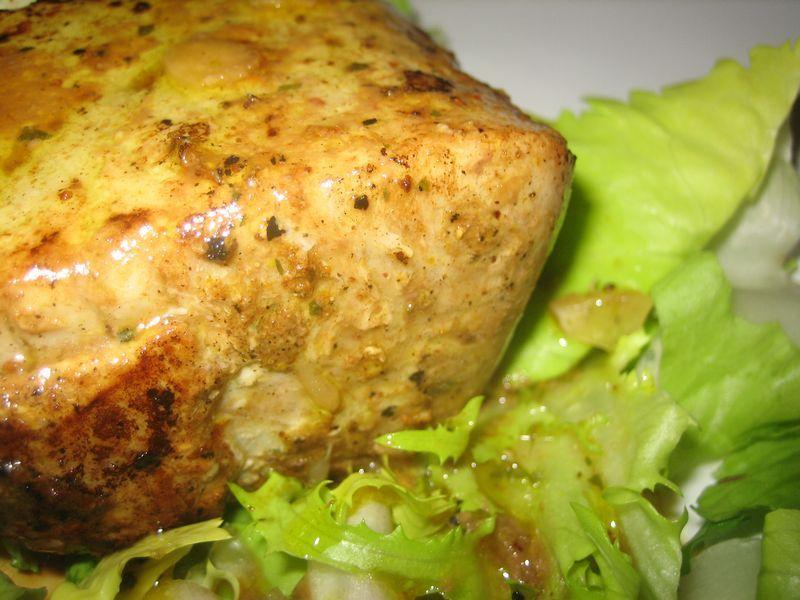 Taco de atún marinado en soja y lima
