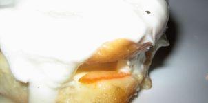 Tarta sonámbula y borracha de yogur