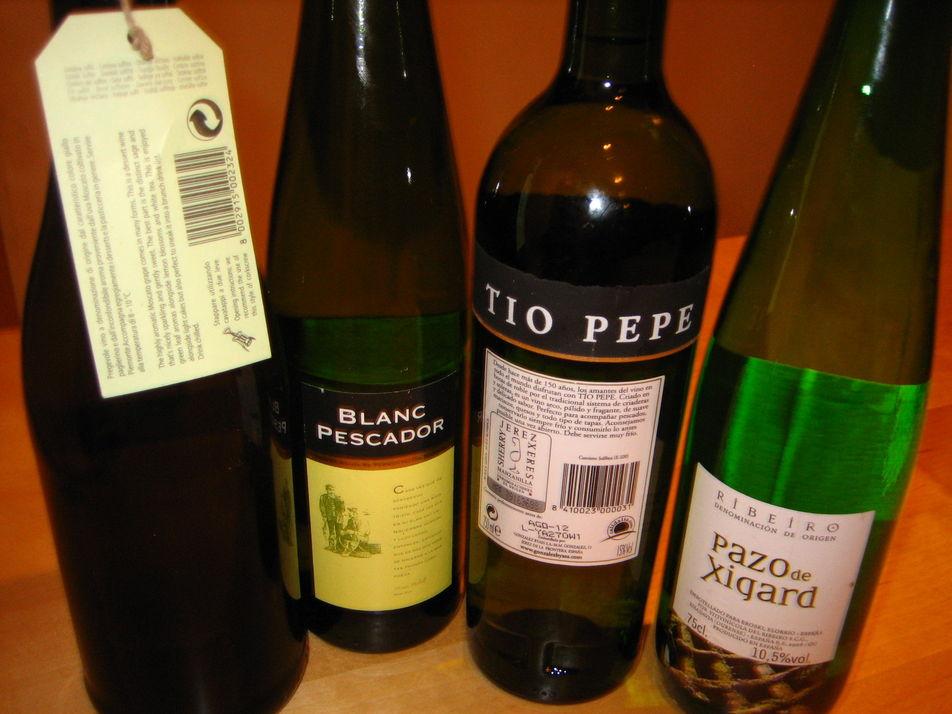 Cata de vinos blancos I